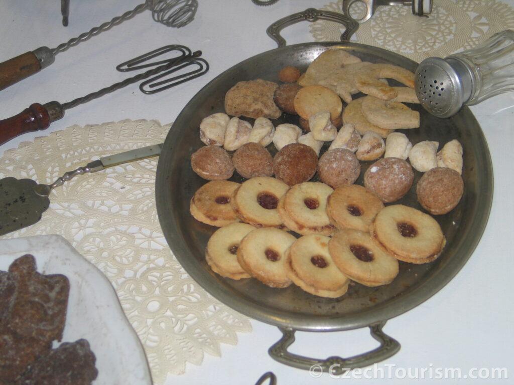 Czeskie ciasteczka świąteczne