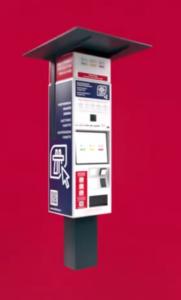 Czeska winieta elektroniczna kiosk samoobsługowy
