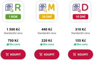 Czechy - elektroniczne winiety autostradowe