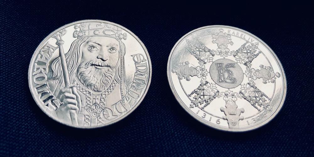 Pamiątkowy medal poświęcony Karolowi