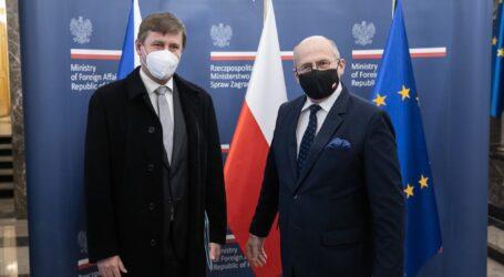 Spotkanie ministrów spraw zagranicznych Polski i Czech