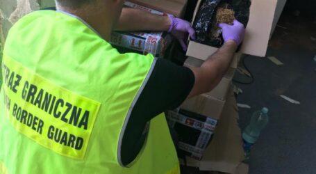 Straż Graniczna i Służby Celne uderzyły mafię tytoniową