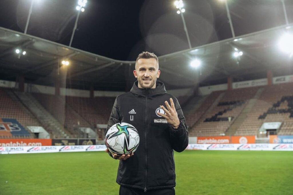 Czeski piłkarz w meczu polskiej Ekstraklasy zdobył aż 4 gole