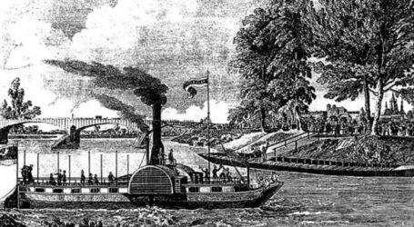 180 lat temu pierwszy czeski parowiec Bohemia znalazł się w wodach Wełtawy