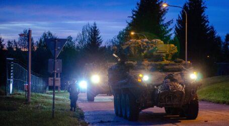 Amerykańscy żołnierze przekroczyli granicę czeską w drodze na ćwiczenia
