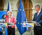 Ursula von der Leyer ogłosiła w Pradze zatwierdzenie czeskiego Planu Odbudowy