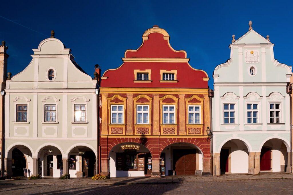 Wysoczyna region w Czechach