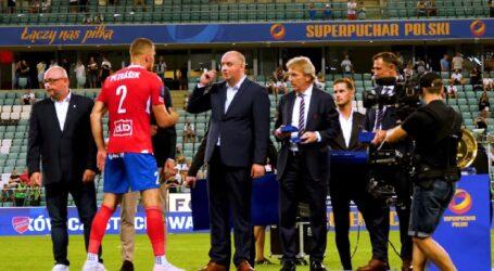 Czeski piłkarz Tomáš Petrášek zdobył z Rakowem Częstochowa Superpuchar Polski