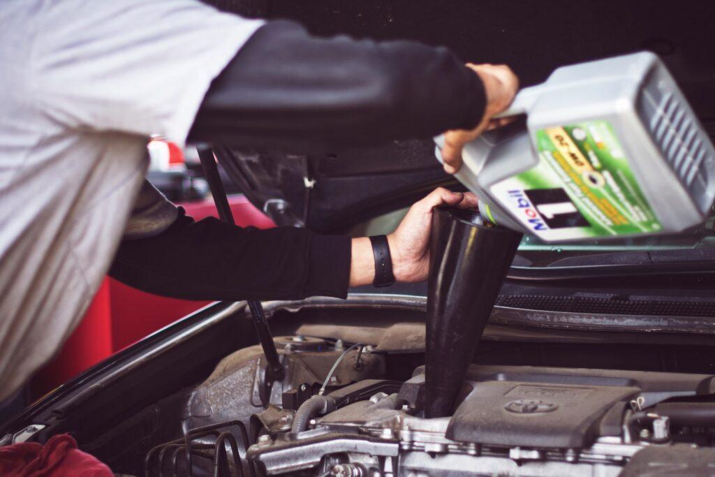 naprawa samochodu w Czechach
